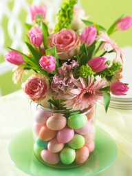 Pretty Easter Centerpiece