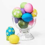 Vibrant Dyed Eggs
