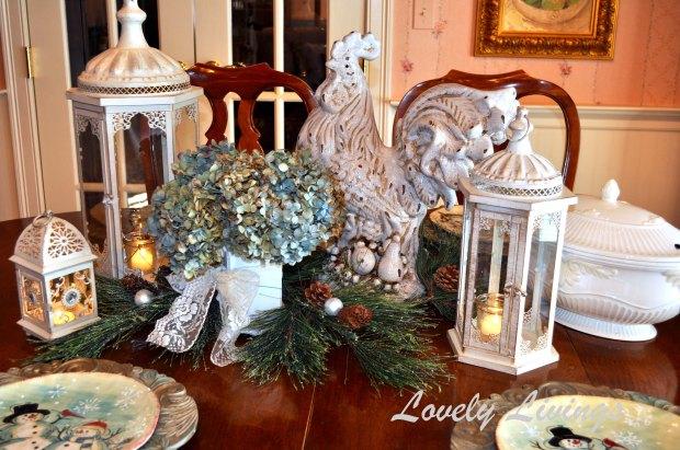 Christmas kitchen table 2013