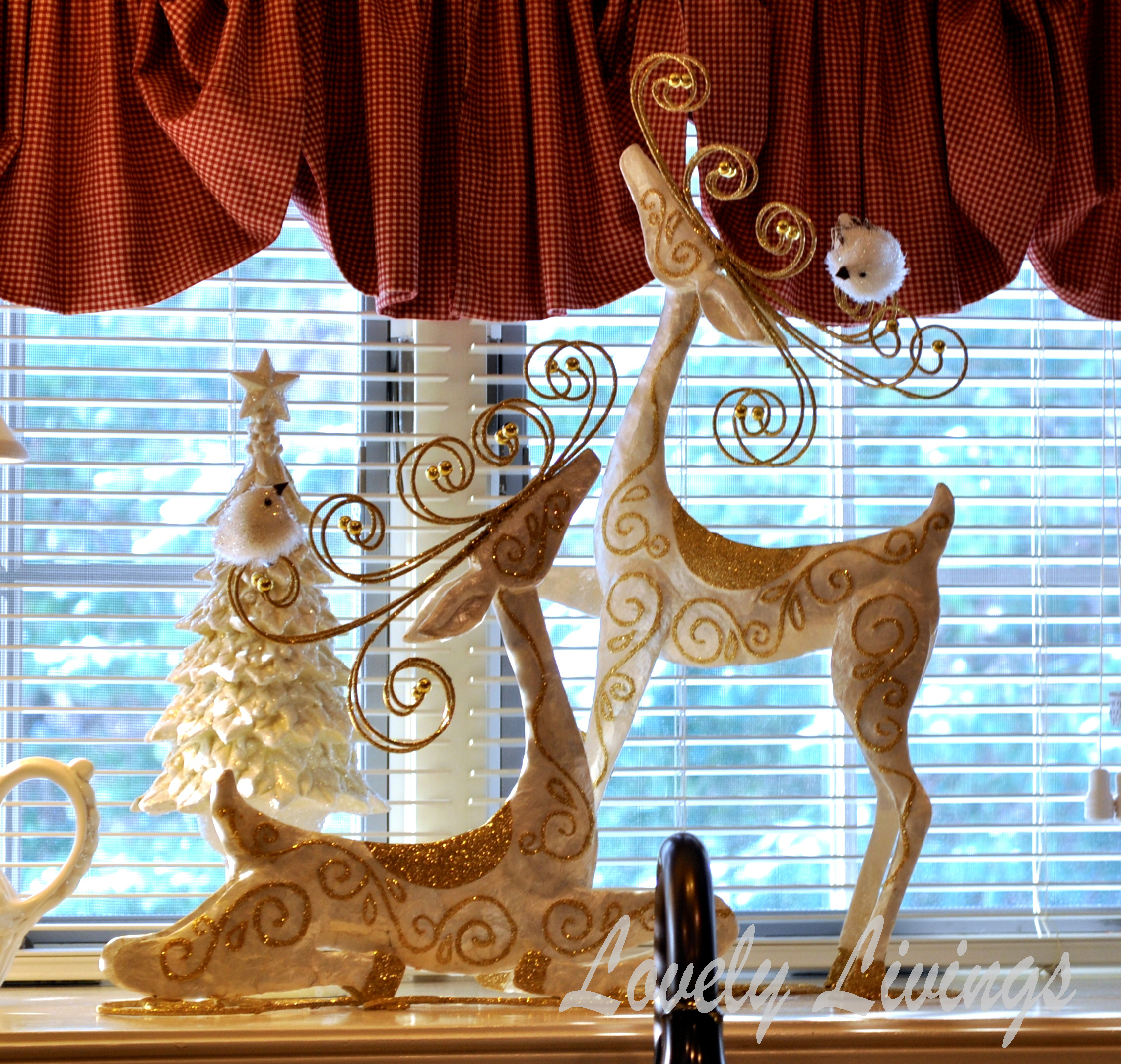christmas window sill 2013