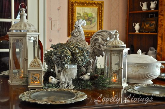 Wintery Tablescapes