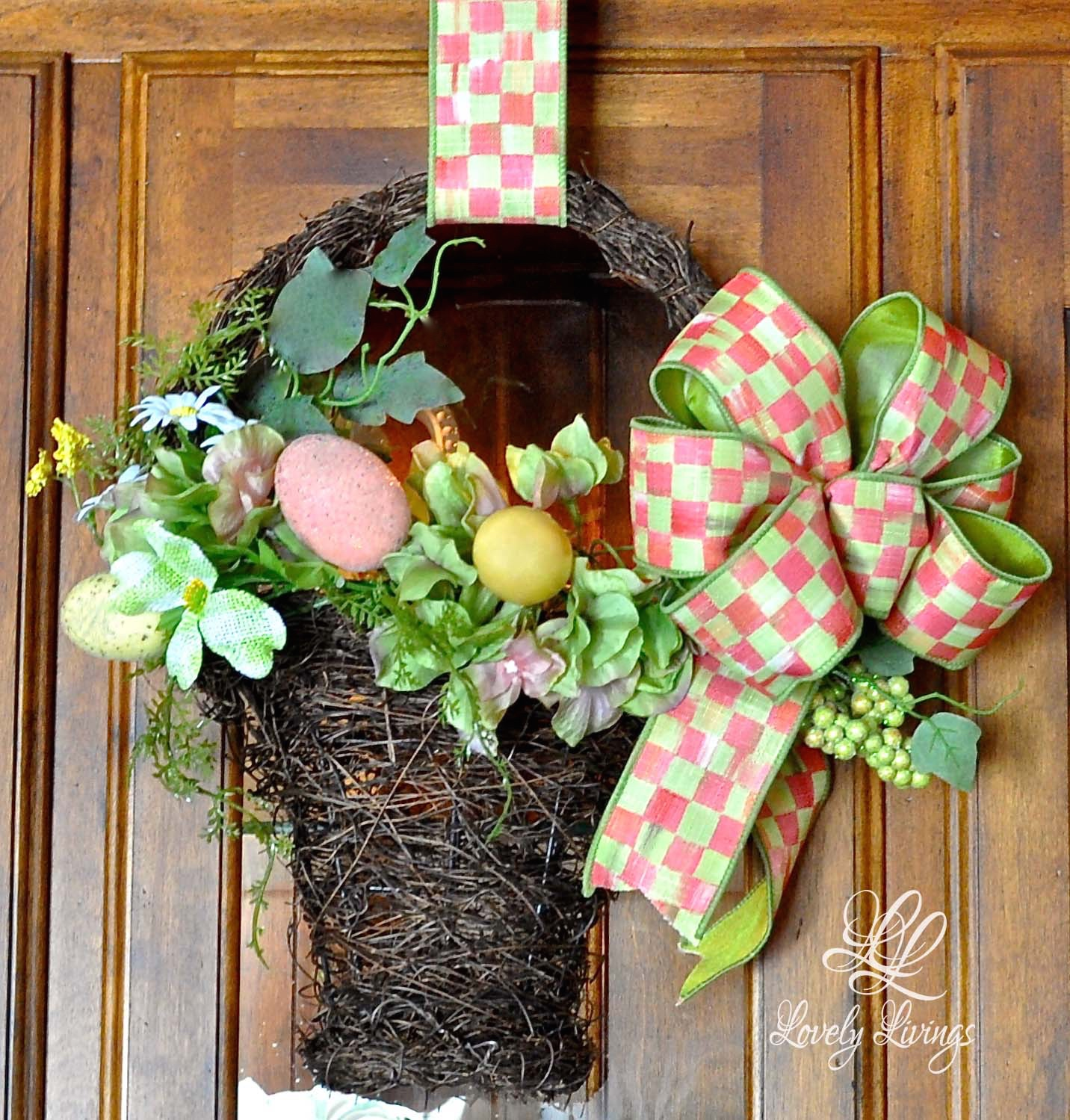 how to make a easter wreaths pinterest