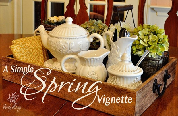A Simple Spring Vignette