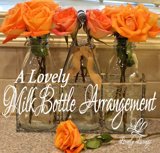 Milk Bottle Arrangement