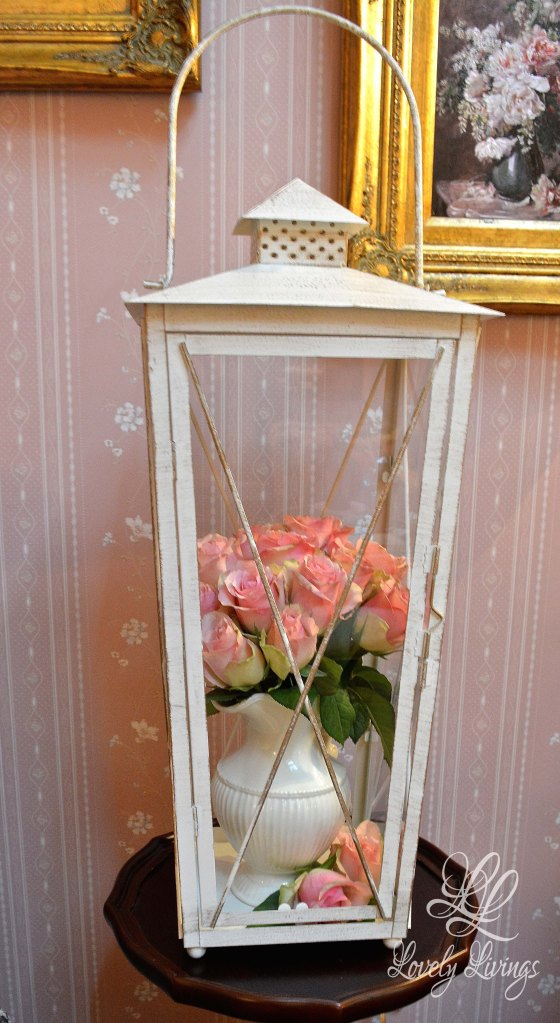 Roses in a Lantern