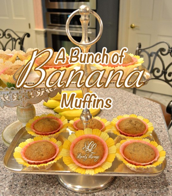 A Bunch of Banana Muffins