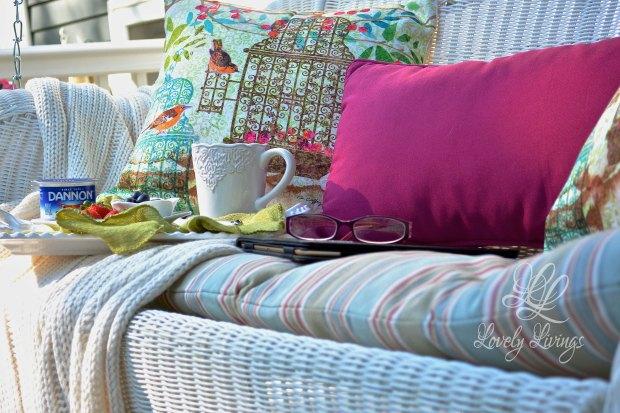 Back Porch Summer Swing