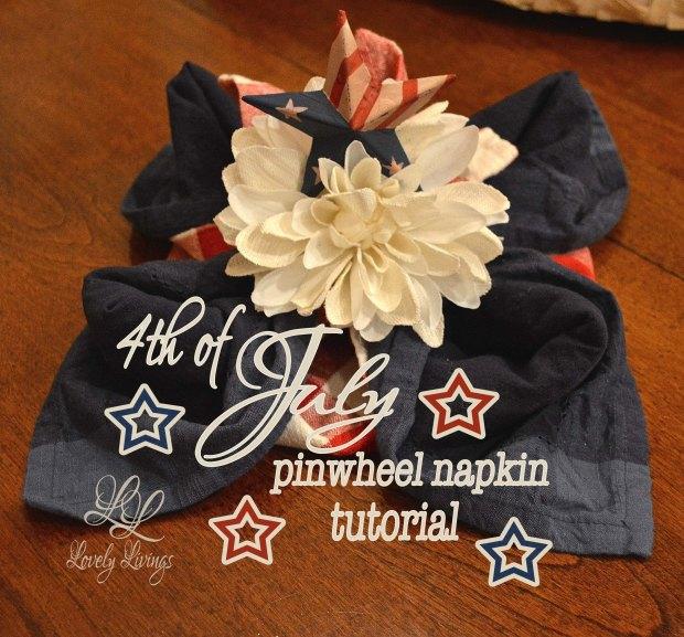 Pinwheel Napkin