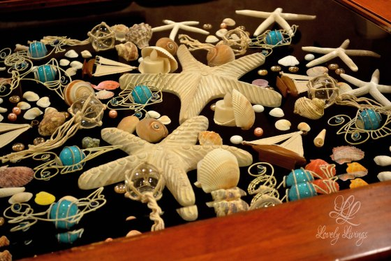 Sea Scape Shadow Box Table