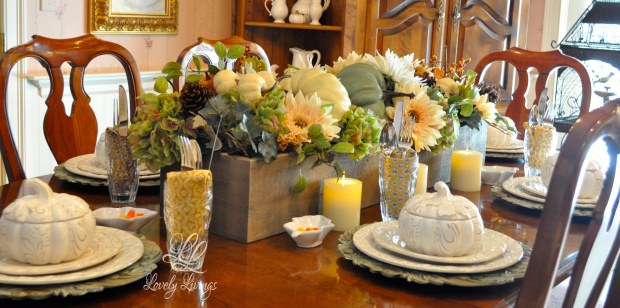 Autumn Table-Scapes 2014
