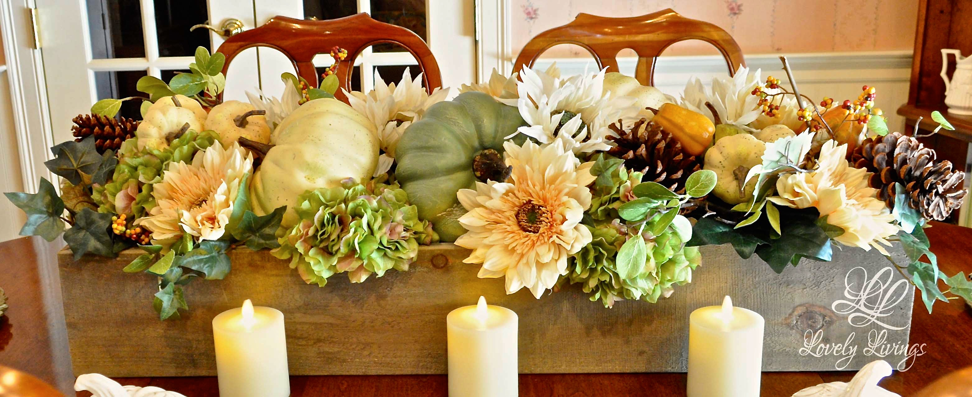Autumn in august 7 ways to use pumpkins in your decor for 3 tier pumpkin decoration