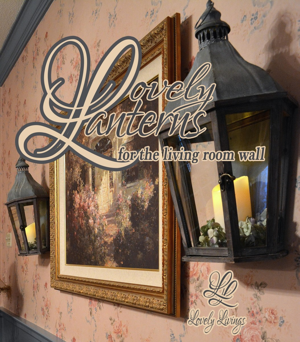 Wall Lantern Living Room : Lovely Lanterns for the Living Room Wall