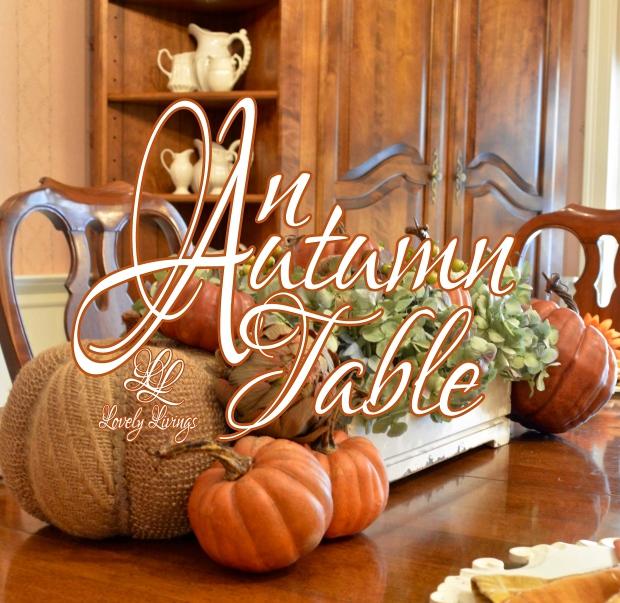 An Autumn Table
