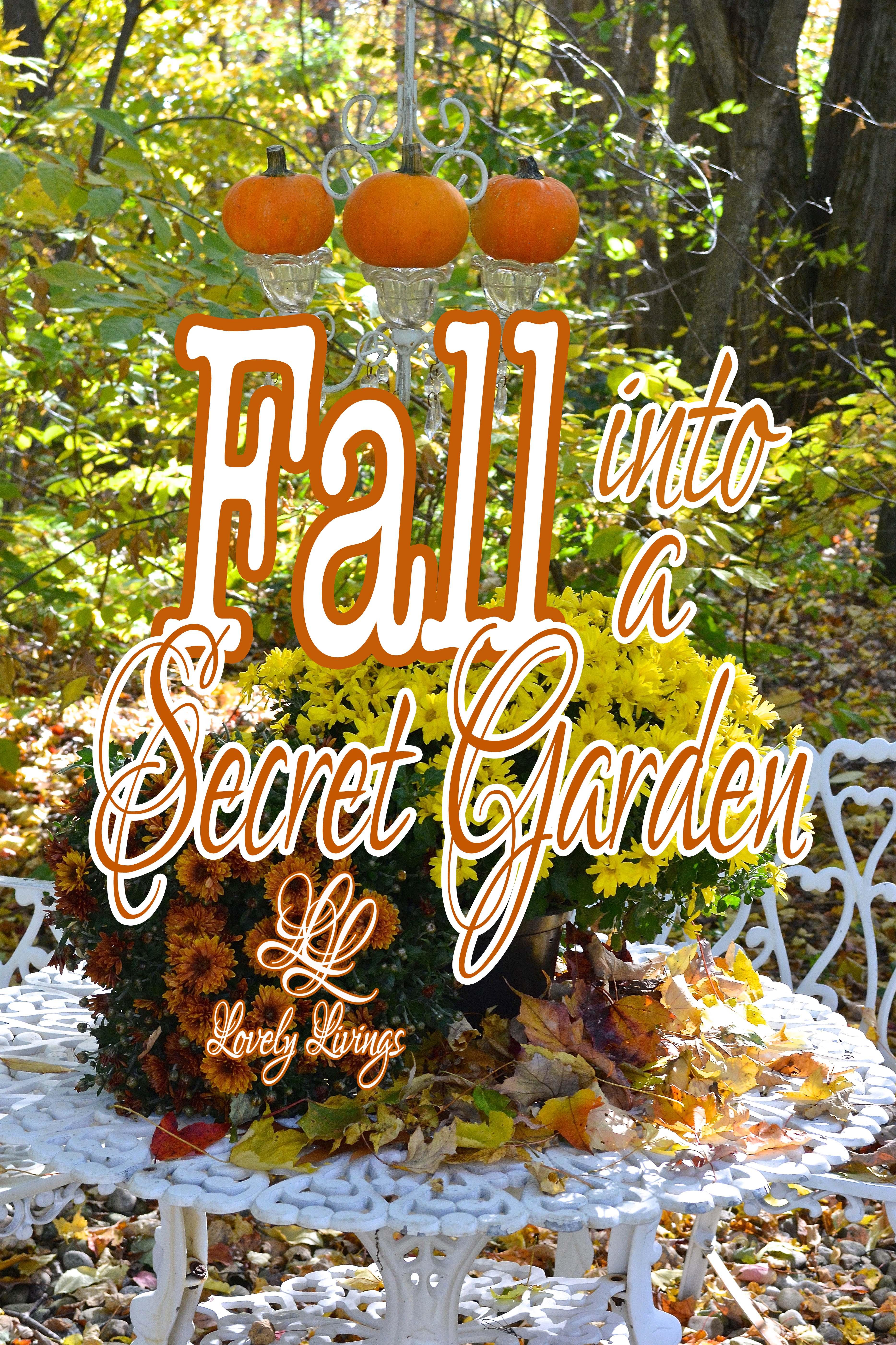 My Secret Garden: Fall Into A Secret Garden