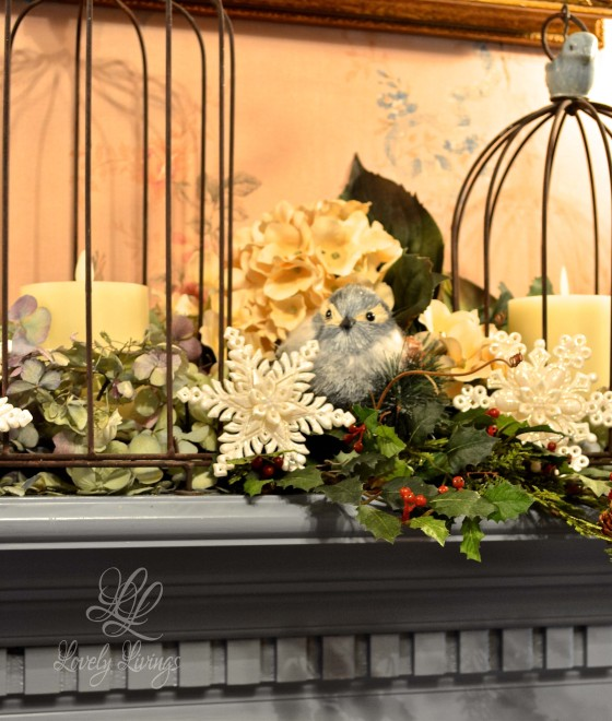 A Winter Mantel