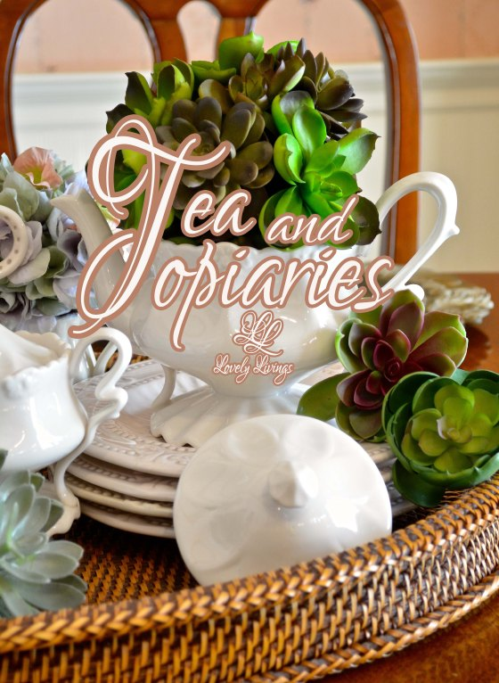Tea and Topiaries