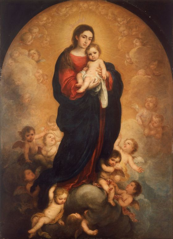 Bartolomé_Esteban_Murillo_-_Virgin_and_Child_in_Glory_-_Google_Art_Project