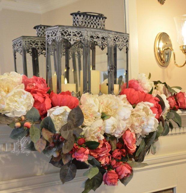 Pretty Peonies and Roses