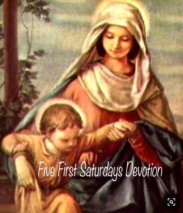 Five First Saturdays Devotion